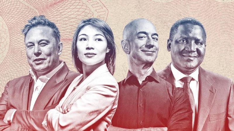 لیست جدید میلیاردرهای 2021 نشریه فوربس